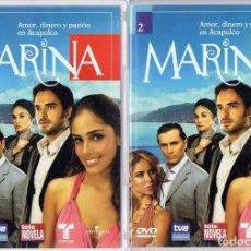 Series de TV: MARINA TELENOVELA (15 DVD). Lote 261166600