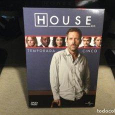 Series de TV: TEMPORADA 5 HOUSE - COMPUESTA POR 6 DISCOS ( PRO6). Lote 261259780