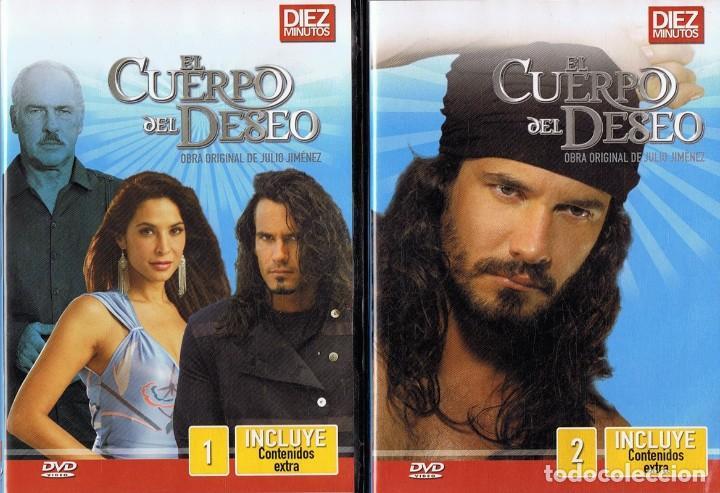 EL CUERPO DEL DESEO TELENOVELA (12 DVD) (Series TV en DVD)