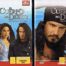 Series de TV: EL CUERPO DEL DESEO TELENOVELA (12 DVD). Lote 261543745