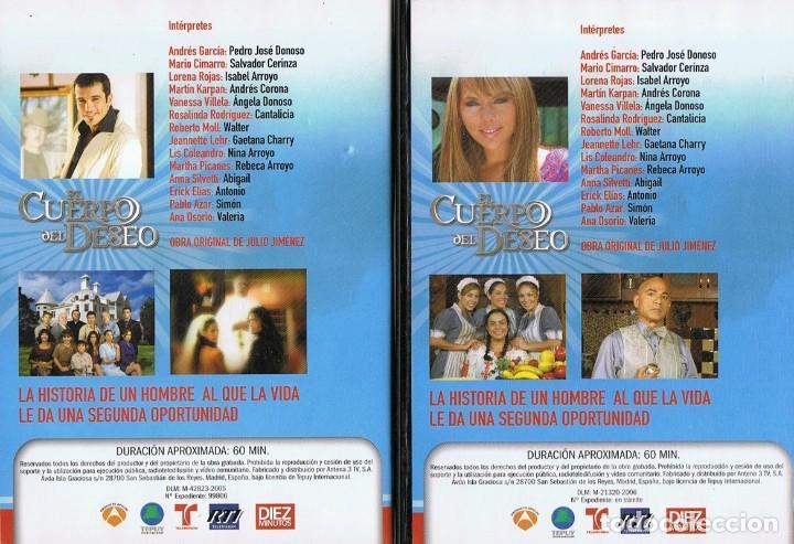 Series de TV: EL CUERPO DEL DESEO TELENOVELA (12 DVD) - Foto 2 - 261543745