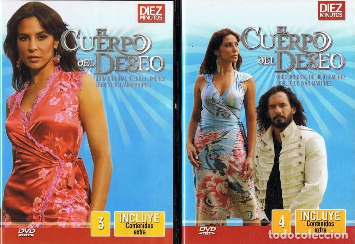 Series de TV: EL CUERPO DEL DESEO TELENOVELA (12 DVD) - Foto 3 - 261543745