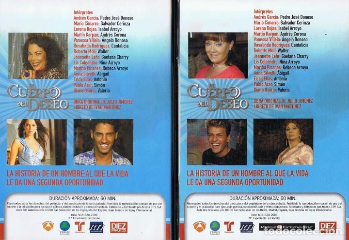 Series de TV: EL CUERPO DEL DESEO TELENOVELA (12 DVD) - Foto 4 - 261543745