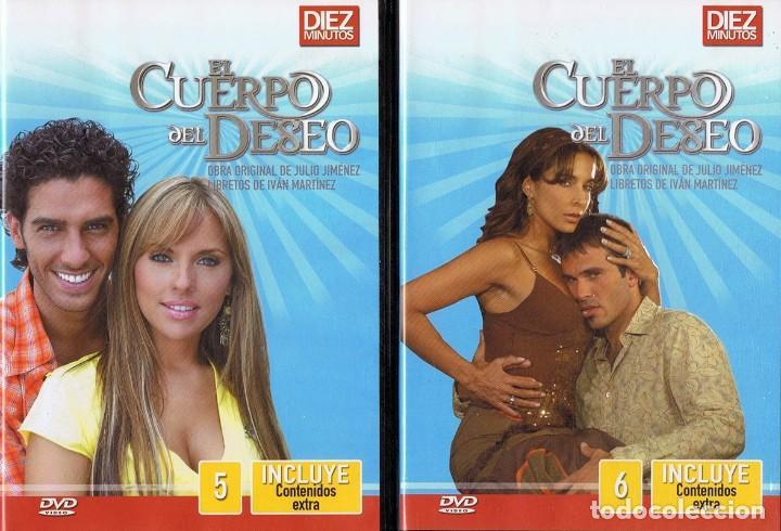 Series de TV: EL CUERPO DEL DESEO TELENOVELA (12 DVD) - Foto 5 - 261543745