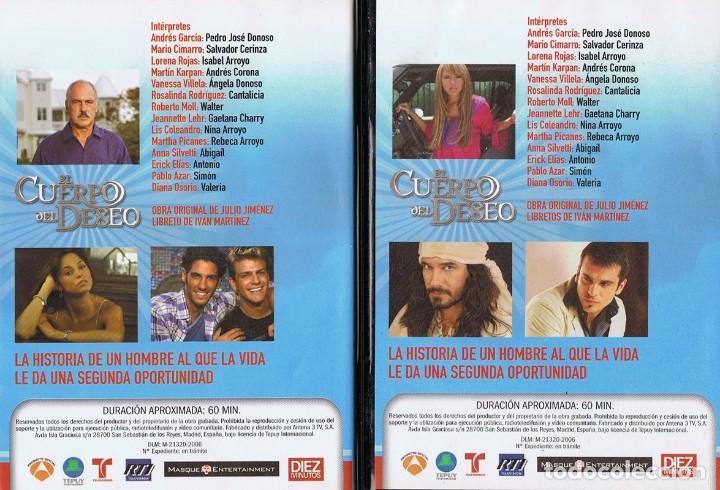 Series de TV: EL CUERPO DEL DESEO TELENOVELA (12 DVD) - Foto 6 - 261543745