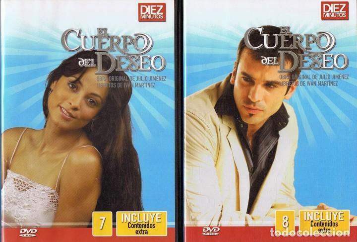 Series de TV: EL CUERPO DEL DESEO TELENOVELA (12 DVD) - Foto 7 - 261543745