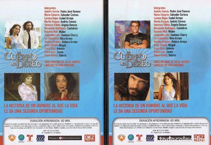 Series de TV: EL CUERPO DEL DESEO TELENOVELA (12 DVD) - Foto 8 - 261543745