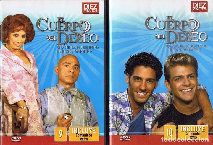 Series de TV: EL CUERPO DEL DESEO TELENOVELA (12 DVD) - Foto 9 - 261543745