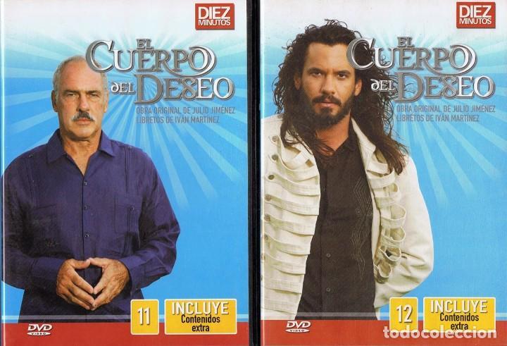 Series de TV: EL CUERPO DEL DESEO TELENOVELA (12 DVD) - Foto 11 - 261543745
