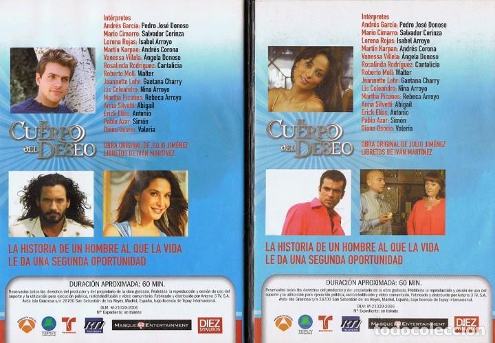 Series de TV: EL CUERPO DEL DESEO TELENOVELA (12 DVD) - Foto 12 - 261543745
