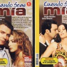Series de TV: CUANDO SEAS MÍA SERGIO BASAÑEZ (10 DVD). Lote 261544065