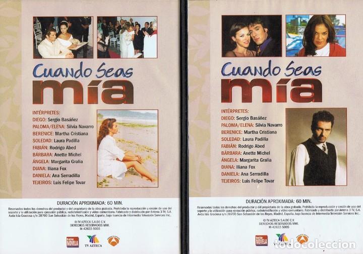 Series de TV: CUANDO SEAS MÍA SERGIO BASAÑEZ (10 DVD) - Foto 2 - 261544065