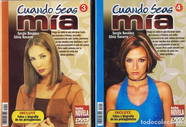 Series de TV: CUANDO SEAS MÍA SERGIO BASAÑEZ (10 DVD) - Foto 3 - 261544065