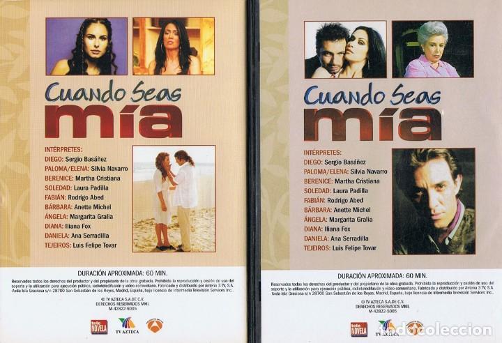 Series de TV: CUANDO SEAS MÍA SERGIO BASAÑEZ (10 DVD) - Foto 4 - 261544065