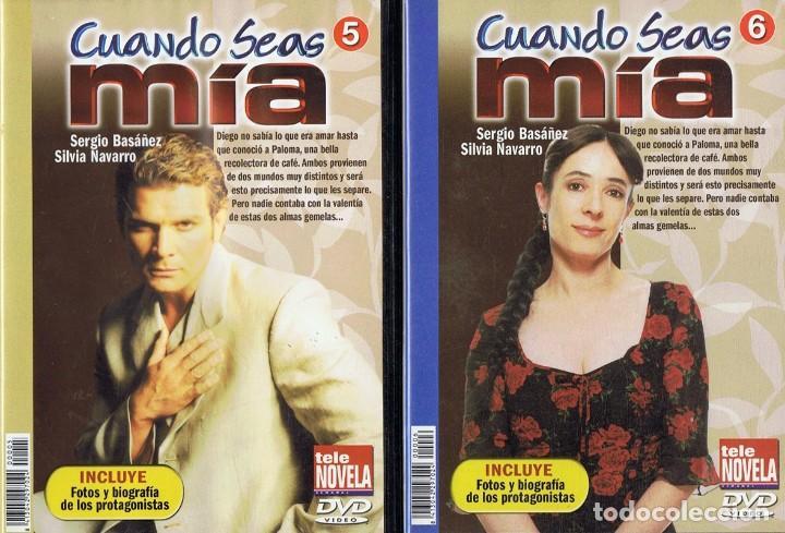 Series de TV: CUANDO SEAS MÍA SERGIO BASAÑEZ (10 DVD) - Foto 5 - 261544065