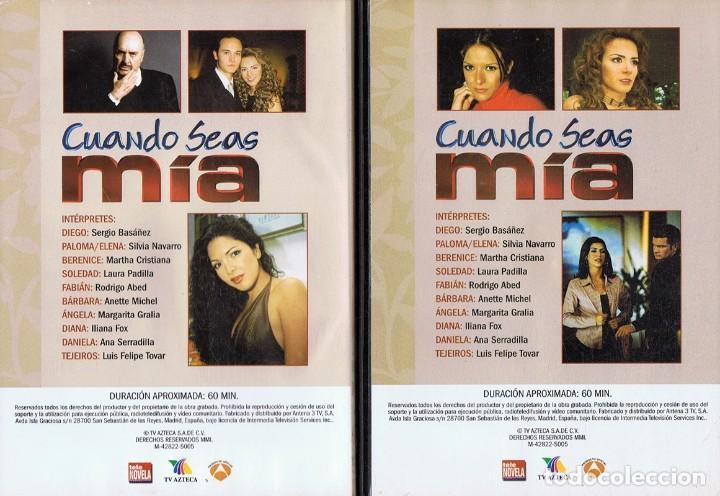 Series de TV: CUANDO SEAS MÍA SERGIO BASAÑEZ (10 DVD) - Foto 6 - 261544065