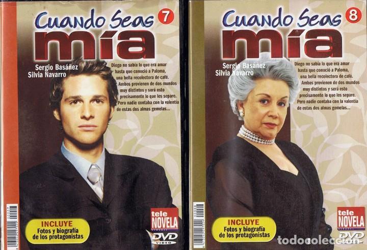Series de TV: CUANDO SEAS MÍA SERGIO BASAÑEZ (10 DVD) - Foto 7 - 261544065