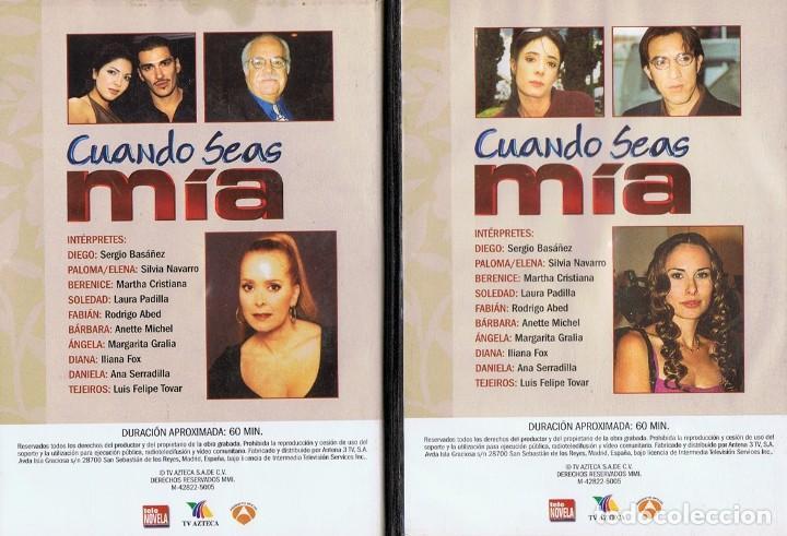 Series de TV: CUANDO SEAS MÍA SERGIO BASAÑEZ (10 DVD) - Foto 8 - 261544065