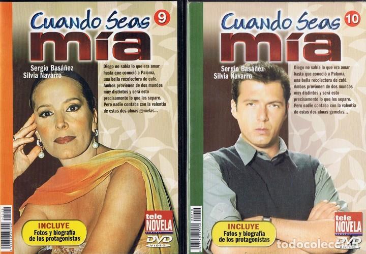 Series de TV: CUANDO SEAS MÍA SERGIO BASAÑEZ (10 DVD) - Foto 9 - 261544065