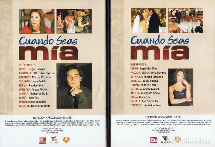 Series de TV: CUANDO SEAS MÍA SERGIO BASAÑEZ (10 DVD) - Foto 10 - 261544065