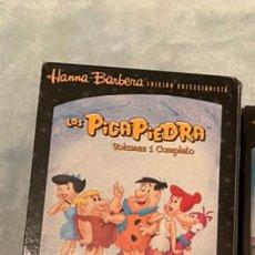 Series de TV: LOS PICAPIEDRA HANNA BARBERA VOLUMEN 1 COMPLETO DVDS DESCATALOGADOS. Lote 261575730