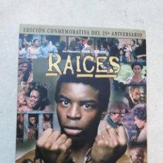 Séries de TV: RAÍCES SERIE TV EN DVD, EDICIÓN CONMEMORATIVA DEL 25 ANIVERSARIO. Lote 261870310