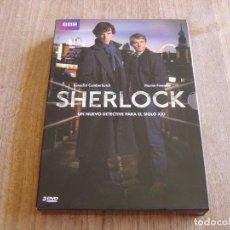 Series de TV: SHERLOCK. UN NUEVO DETECTIVE PARA EL SIGLO XXI. 1ª TEMPORADA COMPLETA. 2010 BBC. Lote 262348820