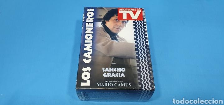 LOS CAMIONEROS (13 CAPÍTULOS) 5 DVD- SANCHO GRACIA , NUEVA PRECINTADA (Series TV en DVD)
