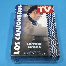 Series de TV: LOS CAMIONEROS (13 CAPÍTULOS) 5 DVD- SANCHO GRACIA. Lote 262692885