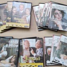 Series de TV: LOTE 5 SERIES MÍTICAS ESPAÑOLAS 20 DVD. FORTUNA JACINTA, JUNCAL, CAÑAS BARRO, REGENTA, GOZOS SOMBRAS. Lote 262875165