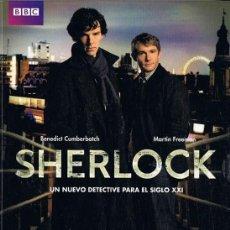 Series de TV: SHERLOCK TEMPORADA 1 BBC. Lote 262902870