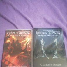 Series de TV: DVD JUEGO DE TRONOS TEMPORADA 7 + CONQUISTA Y REBELIÓN. Lote 263085650