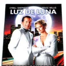 Series de TV: LUZ DE LUNA (T3 - 4 DISCOS) - BRUCE WILLIS CYBILL SHEPHERD ALLYCE BEASLEY DVD DESCATALOGADA. Lote 224399370