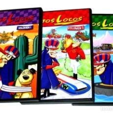 Series de TV: LOS AUTOS LOCOS (SERIE COMPLETA - PACK 3 VOLÚMENES/DISCOS) - HANNAH-BARBERA DVD DESCATALOGADO. Lote 263604910
