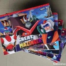 Series de TV: DVD GRAN MAZINGER (GREAT MAZINGER) - SERIE COMPLETA: 56 CAPITULOS EN 5 BOX, 15 DVDS; SELECTA VISION. Lote 264073925