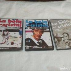 Series de TV: LA BOLA DE CRISTAL (TEMPORADA 2 DVD 1 Y 3 + EDICIÓN ESPECIAL 4). Lote 265890548