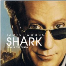 Series de TV: SHARK PRIMERA TEMPORADA JAMES WOODS. Lote 267086379