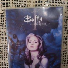 Series de TV: 3 DVD BUFFY CAZAVAMPIROS. PRIMERA TEMPORADA COMPLETA. EPISODIOS 1 -12. Lote 267748774