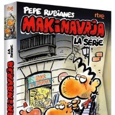 Serie di TV: MAKINAVAJA SERIE COMPLETA (7 DVDS + 8 POSTALES). PRECINTADA. PEPE RUBIANES. Lote 268771749