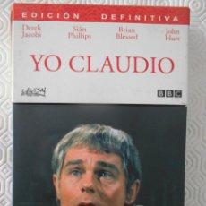 Series de TV: YO CLAUDIO. EDICION DEFINITIVA. ESTUCHE CON 5 DVD'S CON LA SERIE DE DEREK JACOBI, SIÂN PHILIPS, BRIA. Lote 268875539