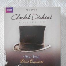 Series de TV: CHARLES DICKENS COLLECTION. LAS MEJORES ADAPTACIONES DE LAS NOVELAS DE CHARLES DICKENS PRODUCIDAS PO. Lote 268877904