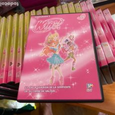 Series de TV: WINX CLUB LOTE 31 DVD + 1 REGALO (HAB). Lote 269032849