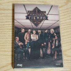 Series de TV: EL MINISTERIO DEL TIEMPO TEMPORADA 2 - SERIE DVD - 7 DVDS (CARATULA Y AUDIO ESPAÑOL). Lote 269316388