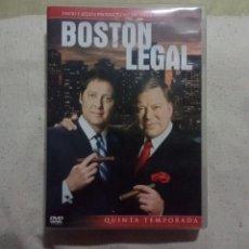 Series de TV: BOSTON LEGAL DVD TEMPORADA QUINTA. Lote 248727205