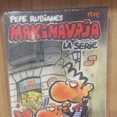 Séries de TV: MAKINAVAJA LA SERIE ( INCLUYE 8 POSTALES EXCLUSIVAS ) DVD - PRECINTADO -. Lote 269851128