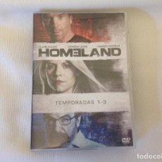 Series de TV: HOMELAND TRES PRIMERAS TEMPORADAS EN DVD. Lote 269991648