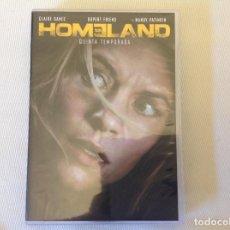 Series de TV: HOMELAND QUINTA TEMPORADA EN DVD. Lote 269991688