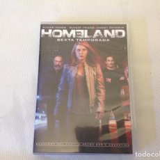 Series de TV: HOMELAND SEXTA TEMPORADA EN DVD. Lote 269991723