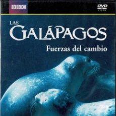 Series de TV: GALÁPAGOS. FUERZAS DEL CAMBIO. DVD (PRECINTADO). Lote 271579893