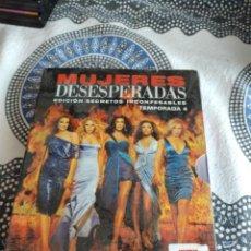 Series de TV: G-81 DVD MUJERES DESESPERADAS TEMPORADA 4 CARATULA ESTADO REGULAR CON HUMEDAD. Lote 271605988